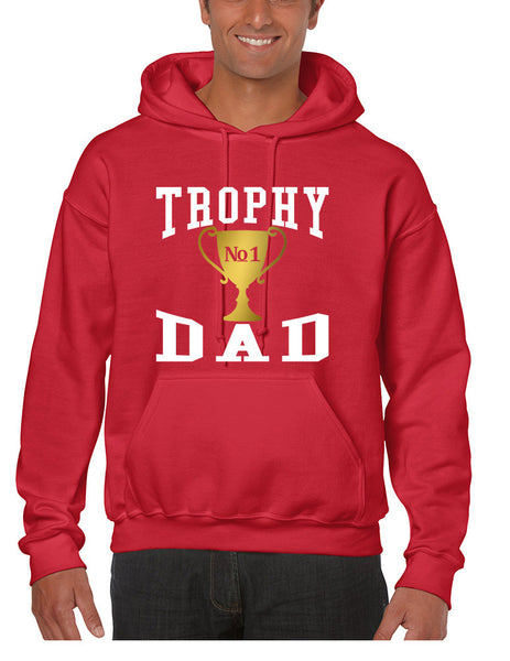 Men's Hoodie Trophy Dad Love Father Shirt Daddy Cool Gift - ALLNTRENDSHOP - 5