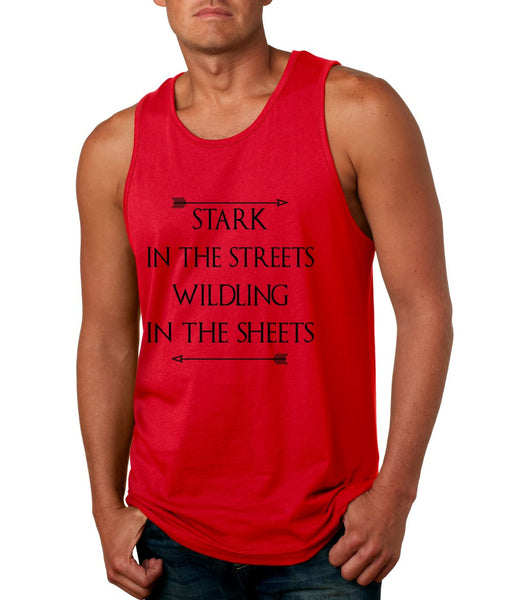 Stark in the streets wildling in the sheets men jersey tank top - ALLNTRENDSHOP - 5