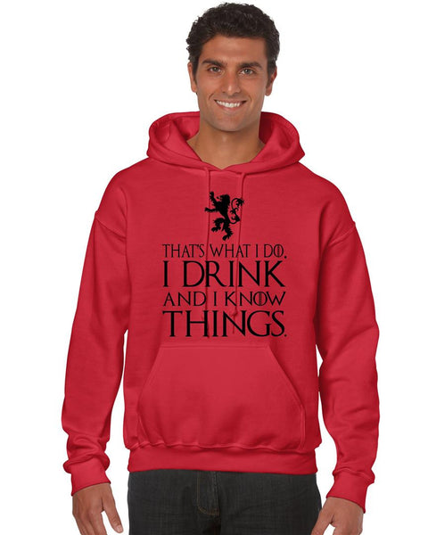 That What I Do I Drink And I Know Things men Hoodie - ALLNTRENDSHOP - 6