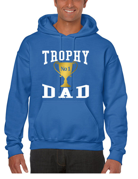 Men's Hoodie Trophy Dad Love Father Shirt Daddy Cool Gift - ALLNTRENDSHOP - 6