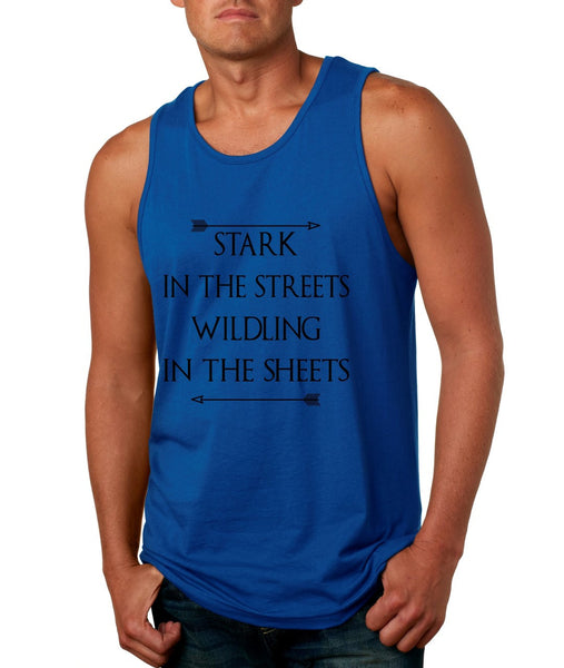 Stark in the streets wildling in the sheets men jersey tank top - ALLNTRENDSHOP - 7