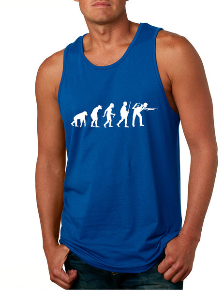 Men's Tank Top Pool Snooker Evolution Cool Billiards Top