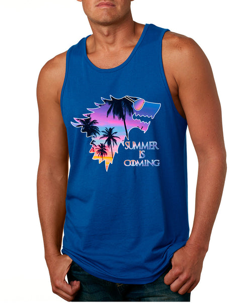 Men's Tank Top Summer Is Coming Love Summer Popular Trendy Top