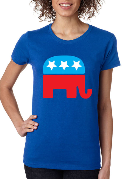 Republican party elephant elections Women t-shirt - ALLNTRENDSHOP - 1