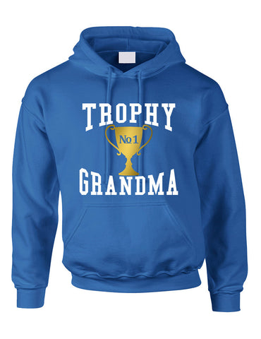 e69d06d5add85 Adult Hoodie Trophy Grandma Cool Xmas Love Family Gift Top - ALLNTRENDSHOP  - 1