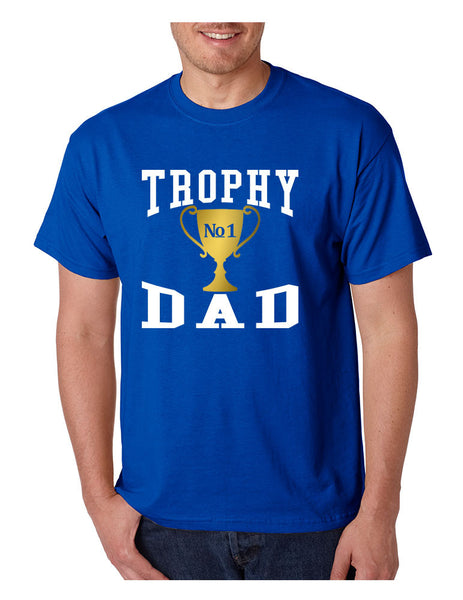 Men's T Shirt Trophy Dad Love Father Shirt Daddy Cool Gift - ALLNTRENDSHOP - 6