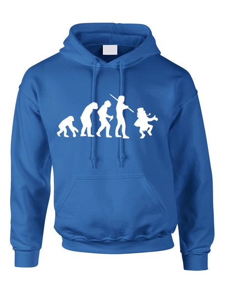 Adult Hoodie Irish Evolution Leprechaun St Patrick's Day Top - ALLNTRENDSHOP - 4