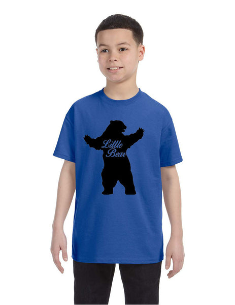Kids T Shirt Little Bear Family Shirt Xmas Cute Holiday Gift - ALLNTRENDSHOP - 2