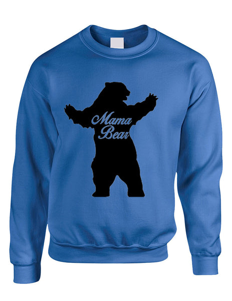 Adult Crewneck Mama Bear Family Top For Mom Xmas Cute Gift - ALLNTRENDSHOP - 2
