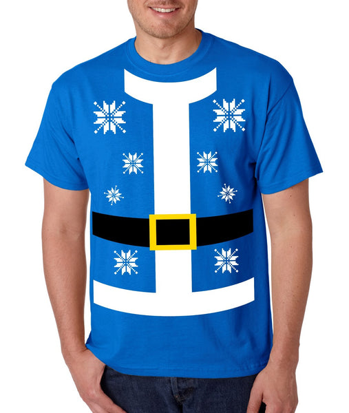 Santa suit Men's T-shirt - ALLNTRENDSHOP - 2