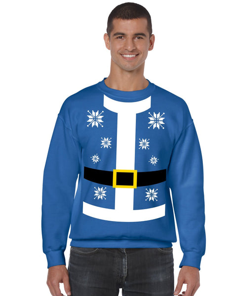 Santa suit Men's Sweatshirt - ALLNTRENDSHOP - 5