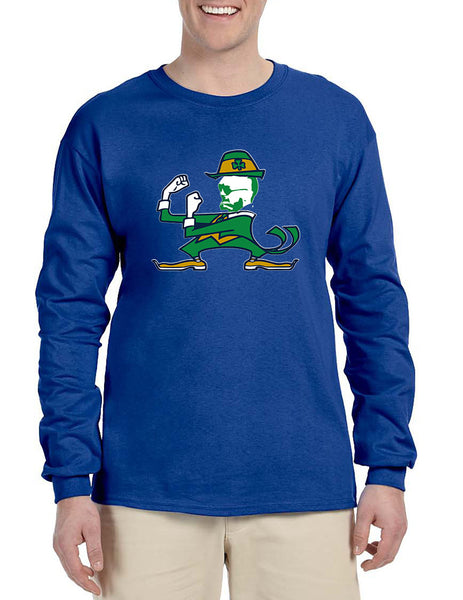 Men's Long Sleeve Irish Fighter Conor Shamrock Popular Tee