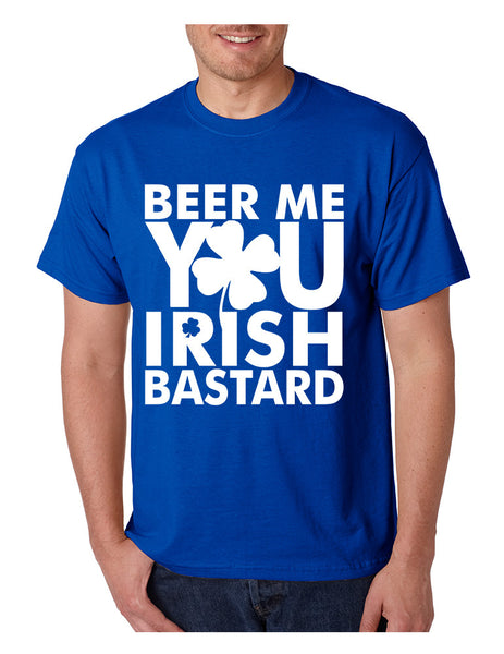 Men's T Shirt Beer Me You Irish St Patrick's Day Drunk Tee