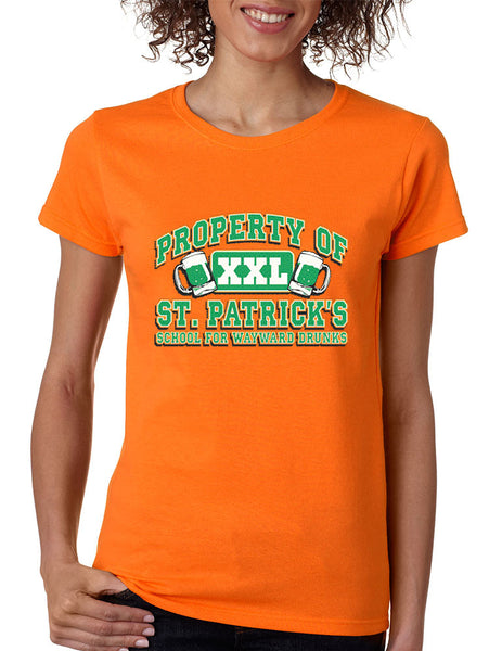 PROPERTY OF St patrick women t-shirt - ALLNTRENDSHOP - 2