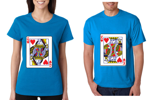 King and Queen matching couples tshirts Valentines day - ALLNTRENDSHOP - 3