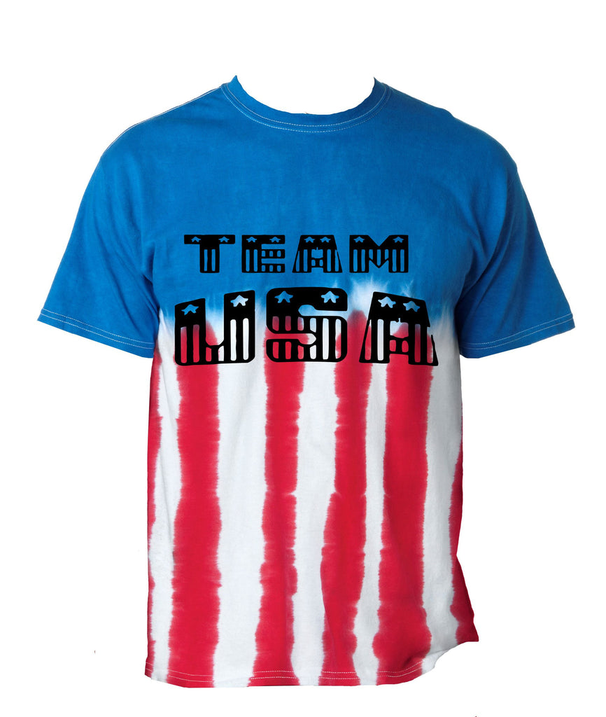 Team USA american Flag Men's Tee shirt