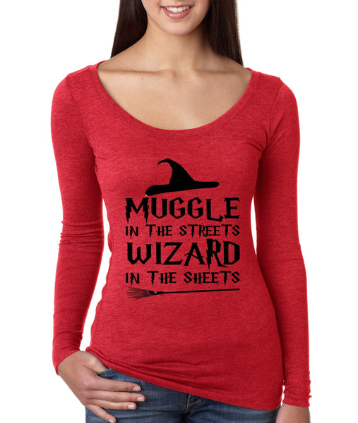 Women's Shirt Muggle In The Streets Wizard In The Sheets - ALLNTRENDSHOP - 4