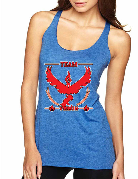 Women's Tank Top Team Valor Red Team Cool Top - ALLNTRENDSHOP - 6