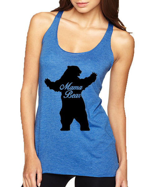 Women's Tank Top Mama Bear Family Top Mother Holiday Gift - ALLNTRENDSHOP - 8