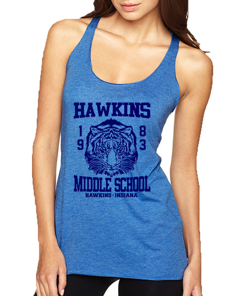Women's Tank Top Hawkins Middle School 1983 - ALLNTRENDSHOP - 7