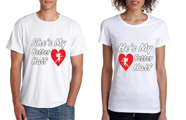 she and hes my better half T-Shirts - ALLNTRENDSHOP - 4