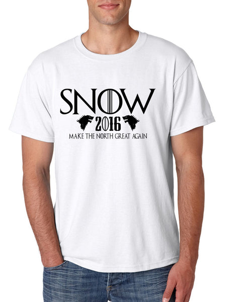 Snow 2016 Make The North Great Again men t shirt - ALLNTRENDSHOP - 2