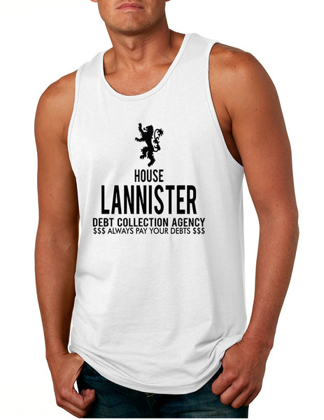 Men's Tank Top House Lannister Debt Collection Agency Cool