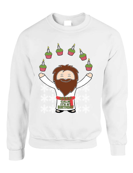 happy birthday Jesus women sweatshirt - ALLNTRENDSHOP