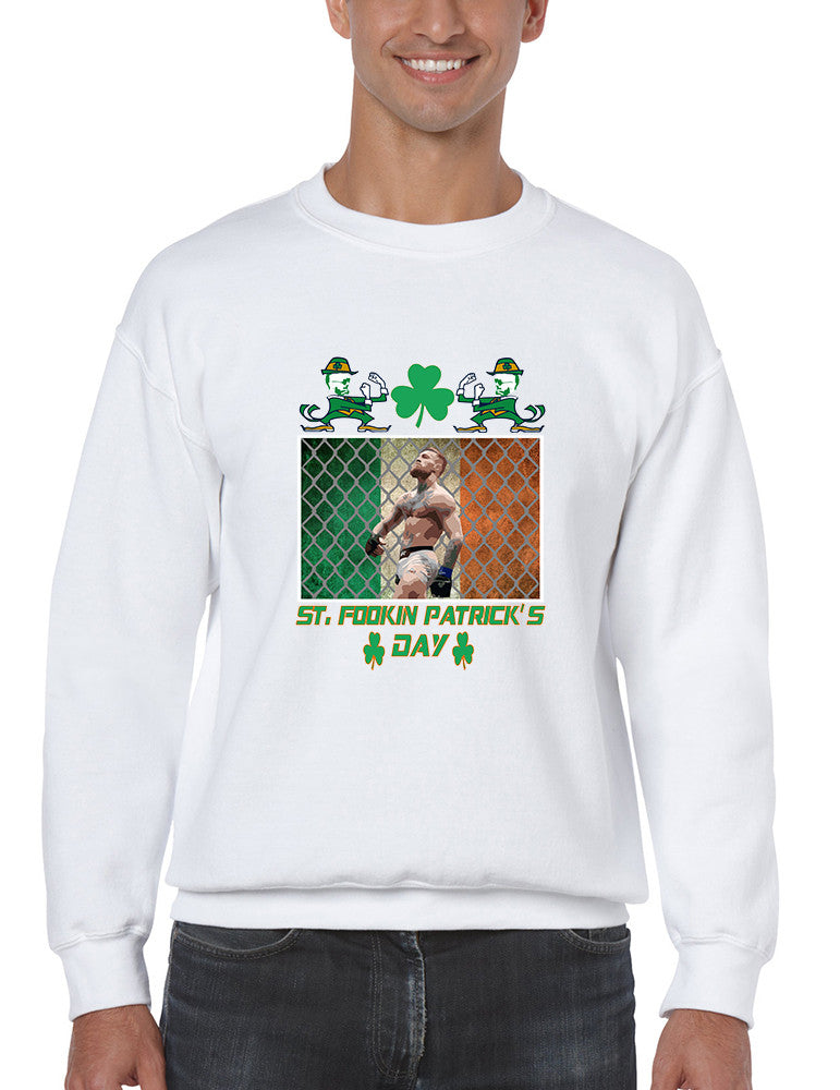 Men's Sweatshirt Irish Conor Final St Patrick's Day Top
