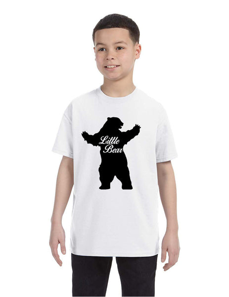 Kids T Shirt Little Bear Family Shirt Xmas Cute Holiday Gift - ALLNTRENDSHOP - 1