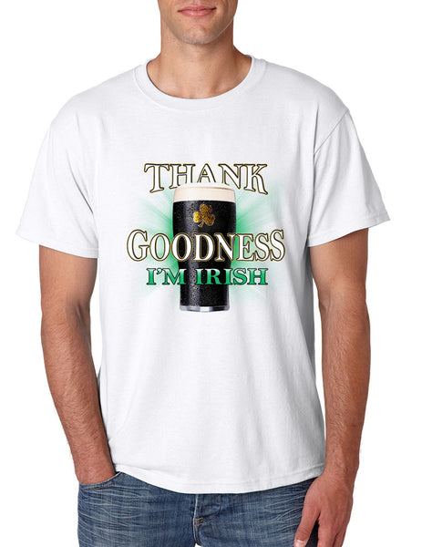Thank Goodness Im Irish Men t-shirt - ALLNTRENDSHOP - 2