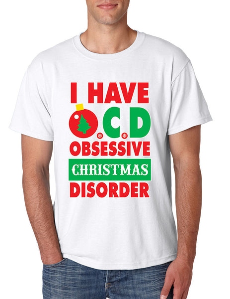 Obsessive christmas disorder Men's T-shirt - ALLNTRENDSHOP - 3