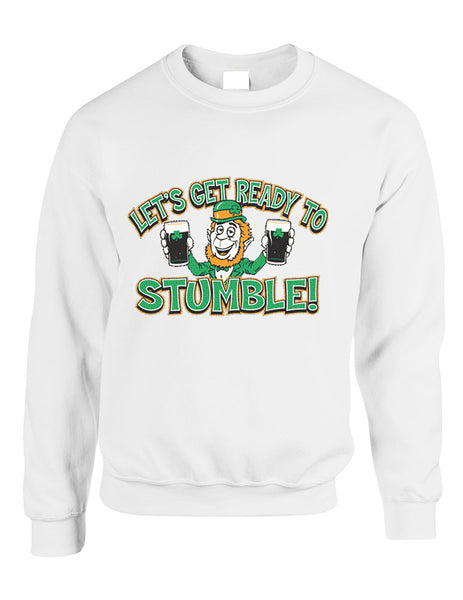 let`s get ready to stumble St patrick women sweatshirt - ALLNTRENDSHOP - 2