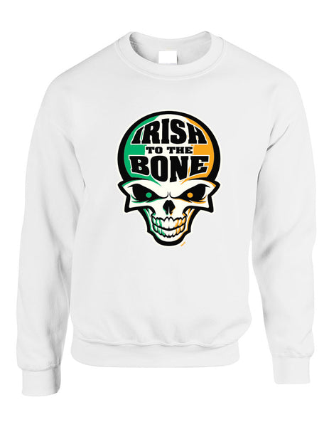 Irish To The Bone Skull women sweatshirt St Patrik - ALLNTRENDSHOP - 5