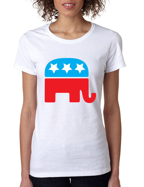Republican party elephant elections Women t-shirt - ALLNTRENDSHOP - 2