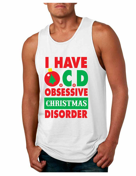 Obsessive christmas disorder Men's Jersey Tank - ALLNTRENDSHOP - 4