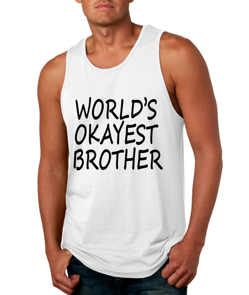 World's OKayest brother men jersey tank top - ALLNTRENDSHOP - 7