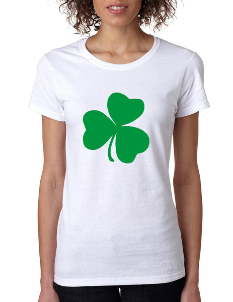 Women's T Shirt Green Shamrock Graphic St Patrick's Day Tee - ALLNTRENDSHOP - 3