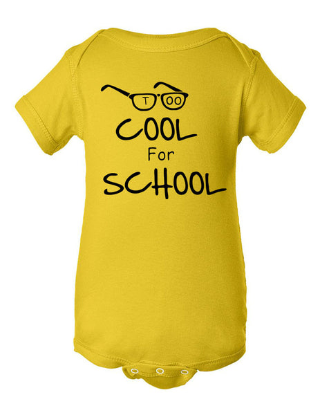Too cool for School Infant Creeper - ALLNTRENDSHOP - 10