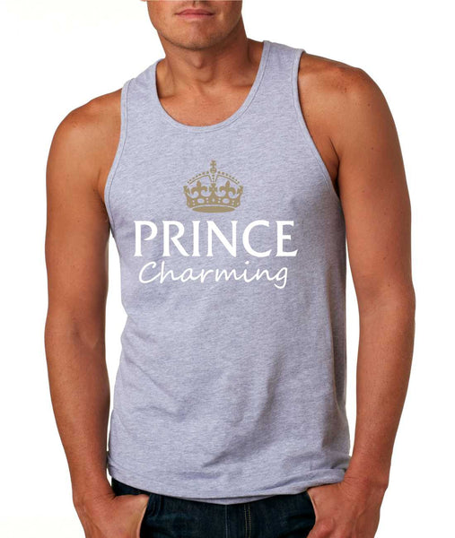 Men's Tank Top Prince Charming Cool Funny Humor Top - ALLNTRENDSHOP - 2