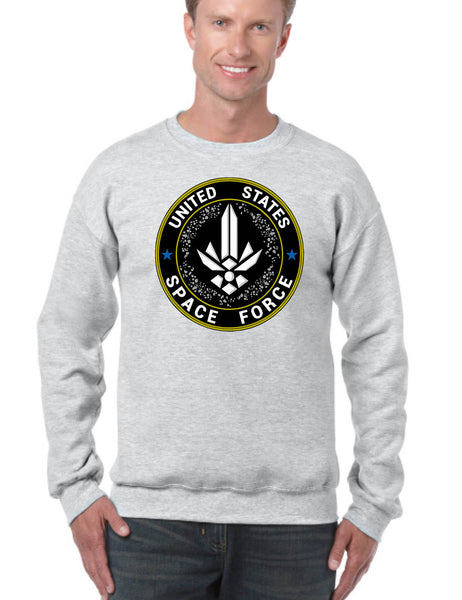 Adult Sweatshirt United States Space Force USSF Top American Forces