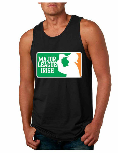 Major League Irish Saint patricks men Jersey Tanktop - ALLNTRENDSHOP - 2