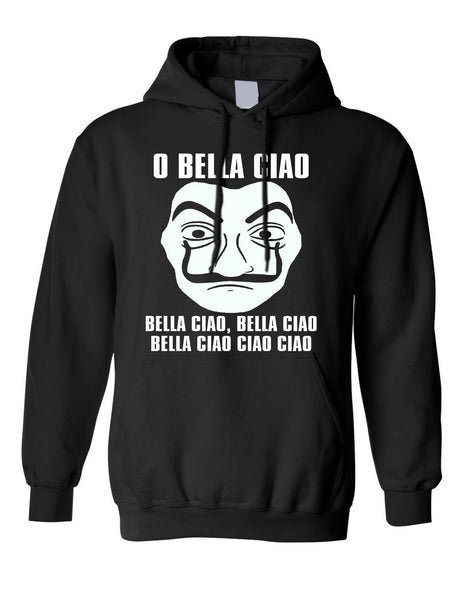 Adult Hoodie O Bella Ciao Sweatshirt Trendy Stuff Cool Top