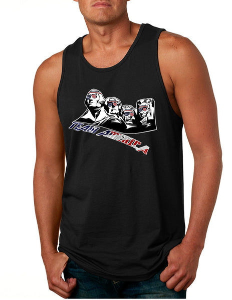 Men's Tank Top 4 Fathers American Team 4th Of July Top