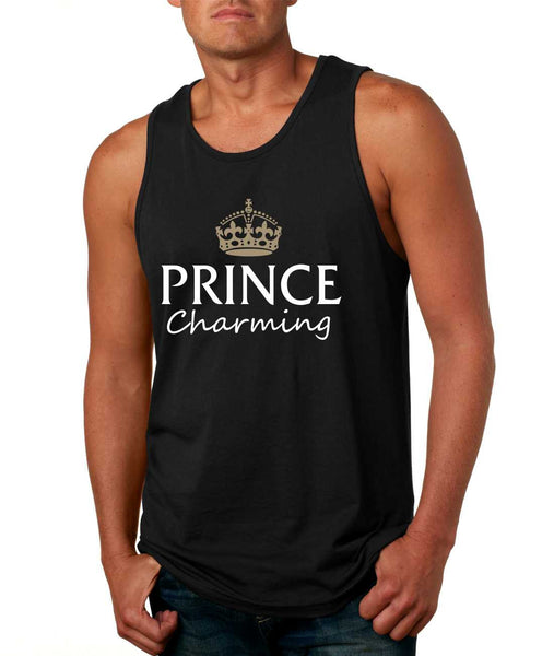 Men's Tank Top Prince Charming Cool Funny Humor Top - ALLNTRENDSHOP - 1