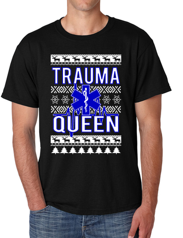 Christmas EMT Traumma Queen Men's T Shirt