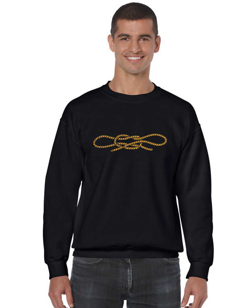 Men's Crewneck Pablo Escobar Rope Cool Handcuff Knot Top - ALLNTRENDSHOP - 1