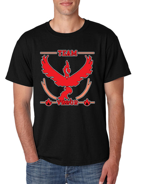 Men's T Shirt Team Valor Red Team Shirt