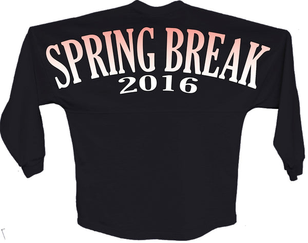 Spring break 2016 orange pom print J america shirt - ALLNTRENDSHOP - 5