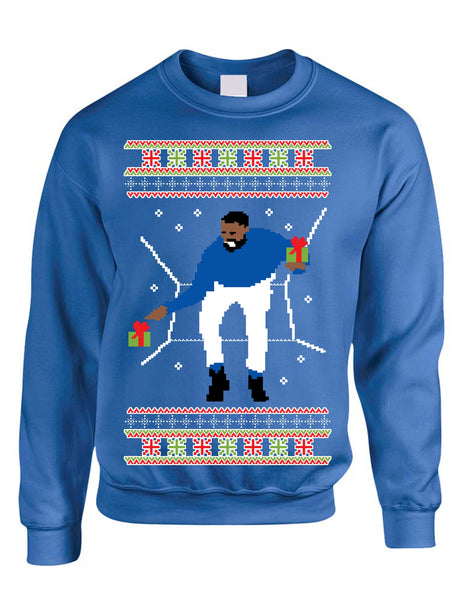 Adult Crewneck 1-800 Hotline Bling Ugly Christmas Sweater - ALLNTRENDSHOP - 5